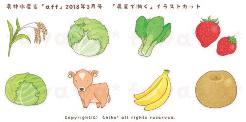 農業のイラスト